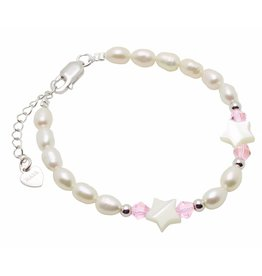 "KAYA sieraden Silver baby bracelet ""Little Star"" without charms"