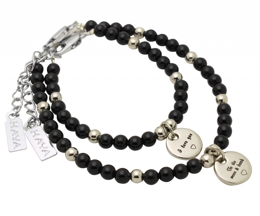 KAYA sieraden Children bracelets 'pick your charm'