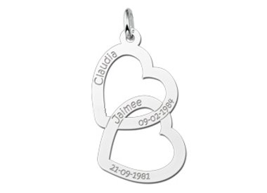 Mom charms (silver)