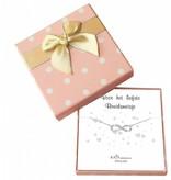 KAYA sieraden Gift Box Silver bracelets 'Infinity' Bridesmaid