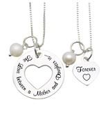 "KAYA sieraden Mom & Me necklaces ""The love between Mom & Daughter '"