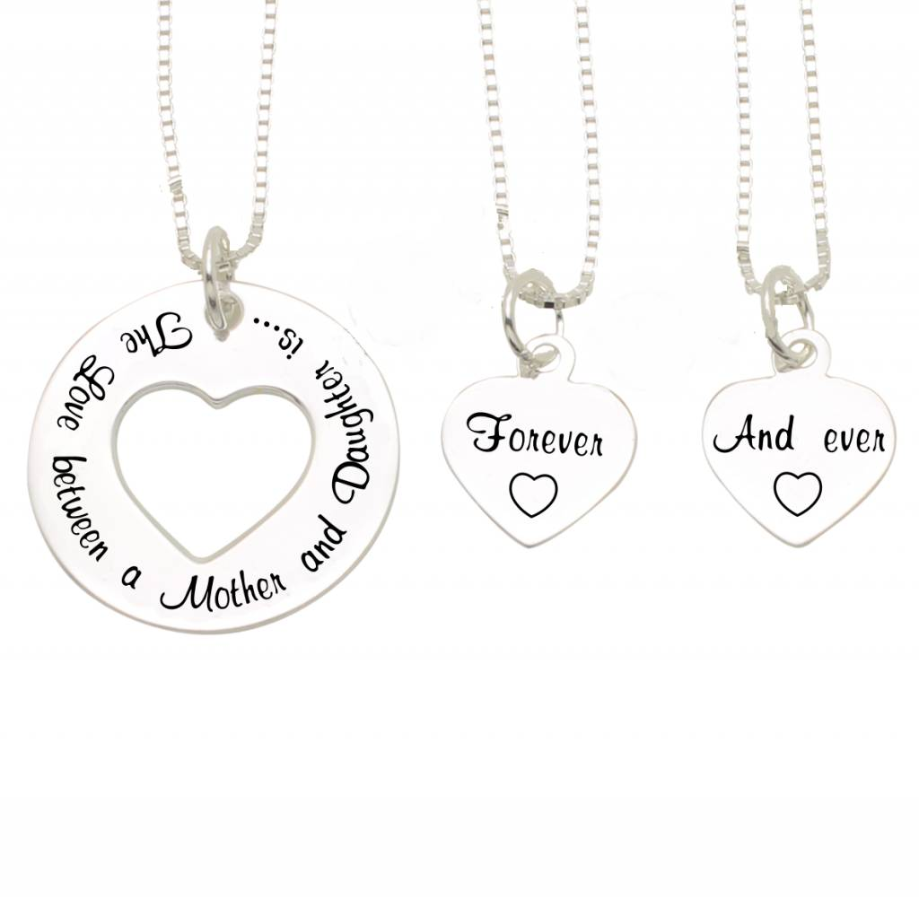 KAYA sieraden ★SALE★ Mama & 2 dochters 'The Love between Mother & Daughter'