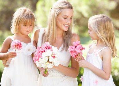 bridesmaids and