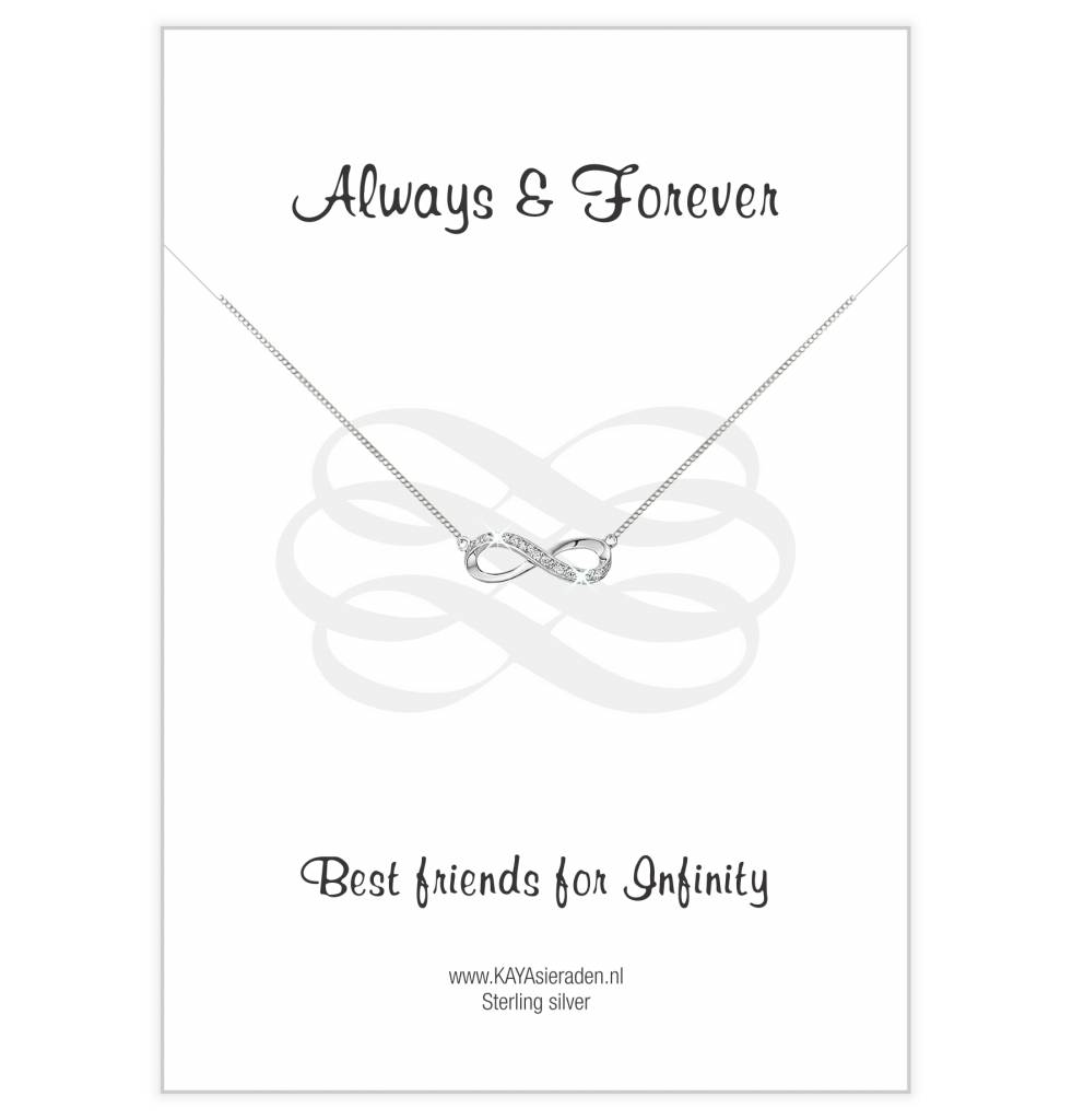 Infinity Silver Bracelet 'Necklace' - Copy - Copy - Copy