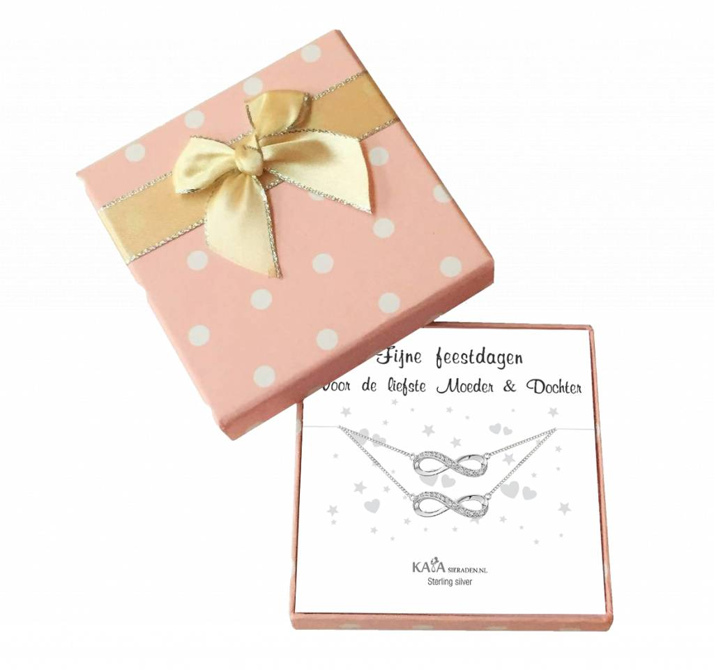 KAYA sieraden Gift Box Infinity 'Happy Holidays'