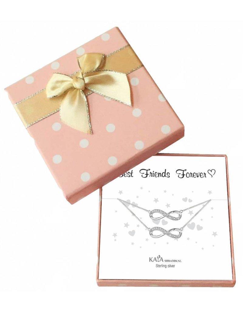 KAYA sieraden Gift Box Infinity 'Happy Holidays' - Copy