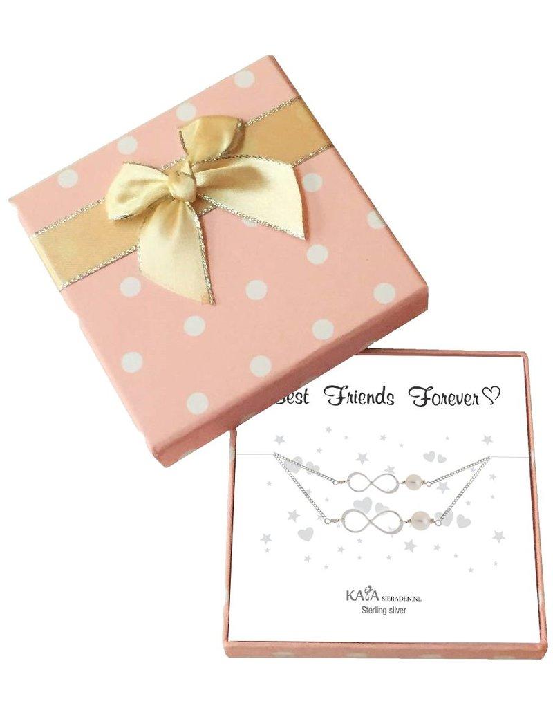 KAYA sieraden Gift Box Speechless 'Best Friends Forever'