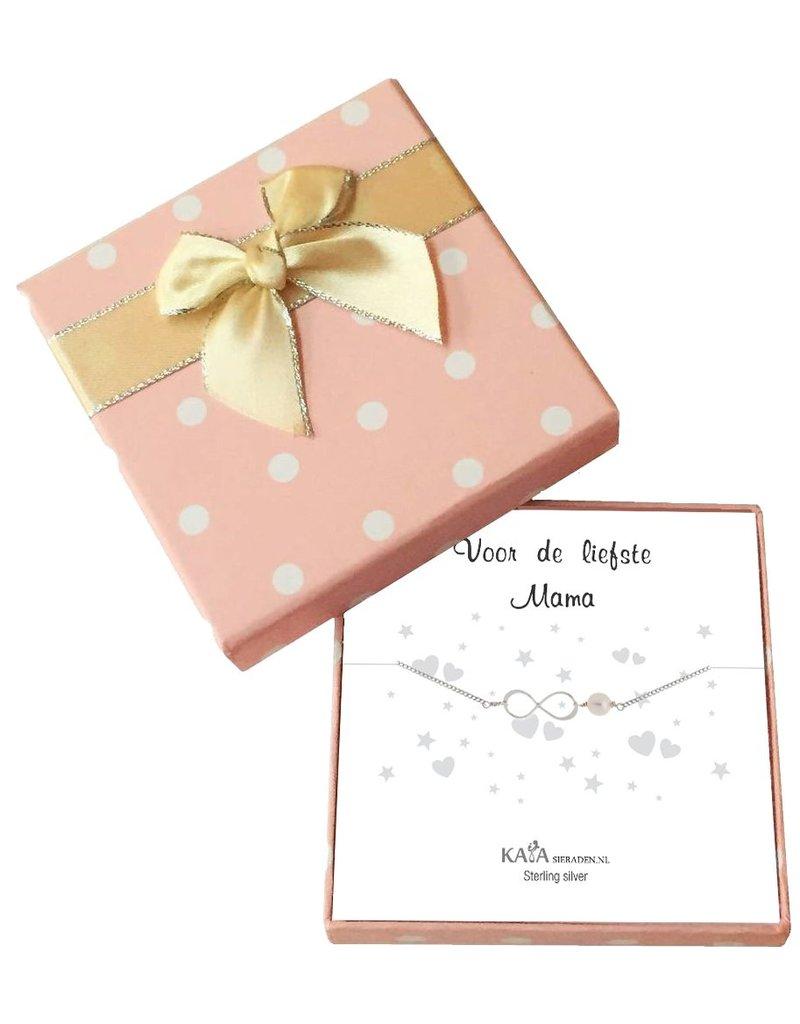 KAYA sieraden Cadeaudoosje Speechless 'Voor de Liefste Mama'