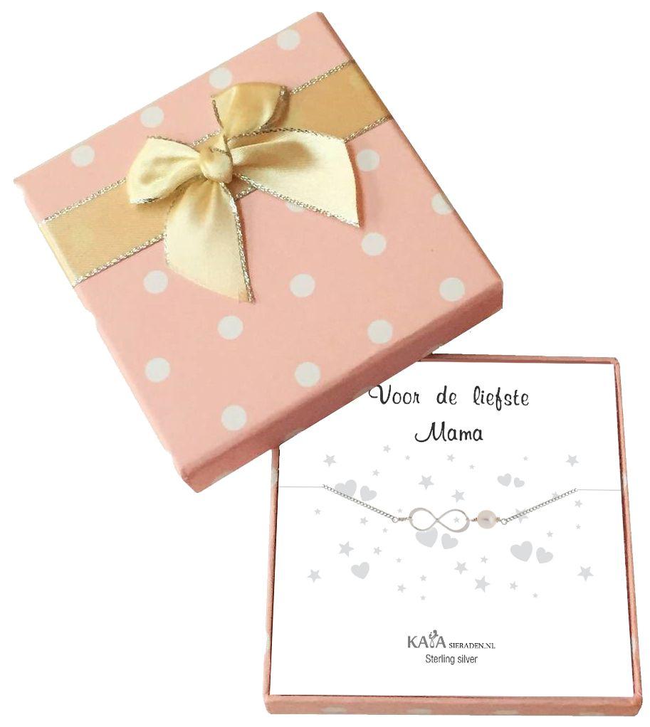 Cadeaudoosje Speechless 'Voor de Liefste Mama'