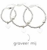 3 Silver Bracelets 'Personalize' - Copy