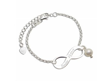 baby bracelet with name