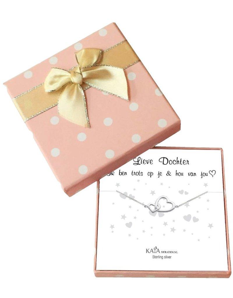 Wenskaart + Geschenkdoosje. Maak je cadeau persoonlijk!