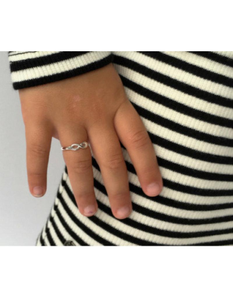 KAYA sieraden Silver ring kids 'Infinity'