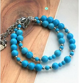"KAYA sieraden Mother & Son Bracelets ""See Breeze"""