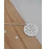 KAYA sieraden Twee Ketting 'De Liefde tussen Moeder & Dochter ..'