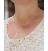 """Silver Necklace """"The Love Between Mother & Daughter .. '- Copy"""