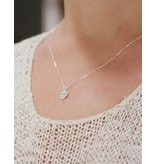 KAYA sieraden Silver Mom & Me chains 'Like mother, Like daughter'