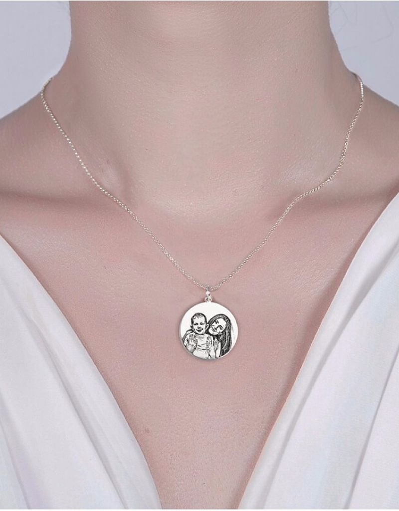 KAYA sieraden Necklace with photos square '