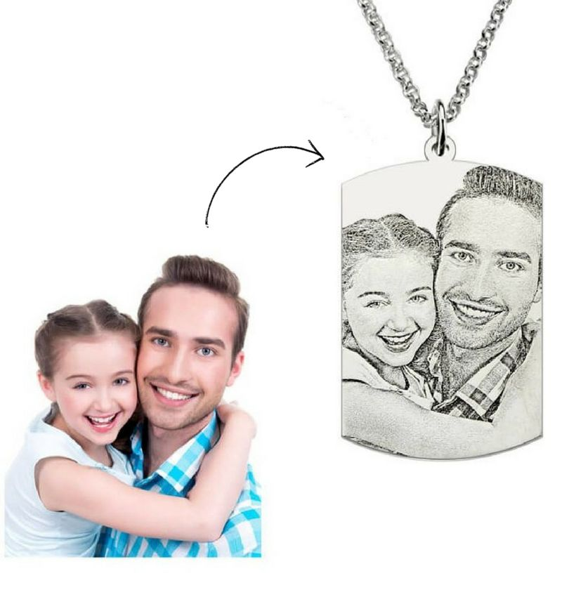 KAYA sieraden Necklace with photo