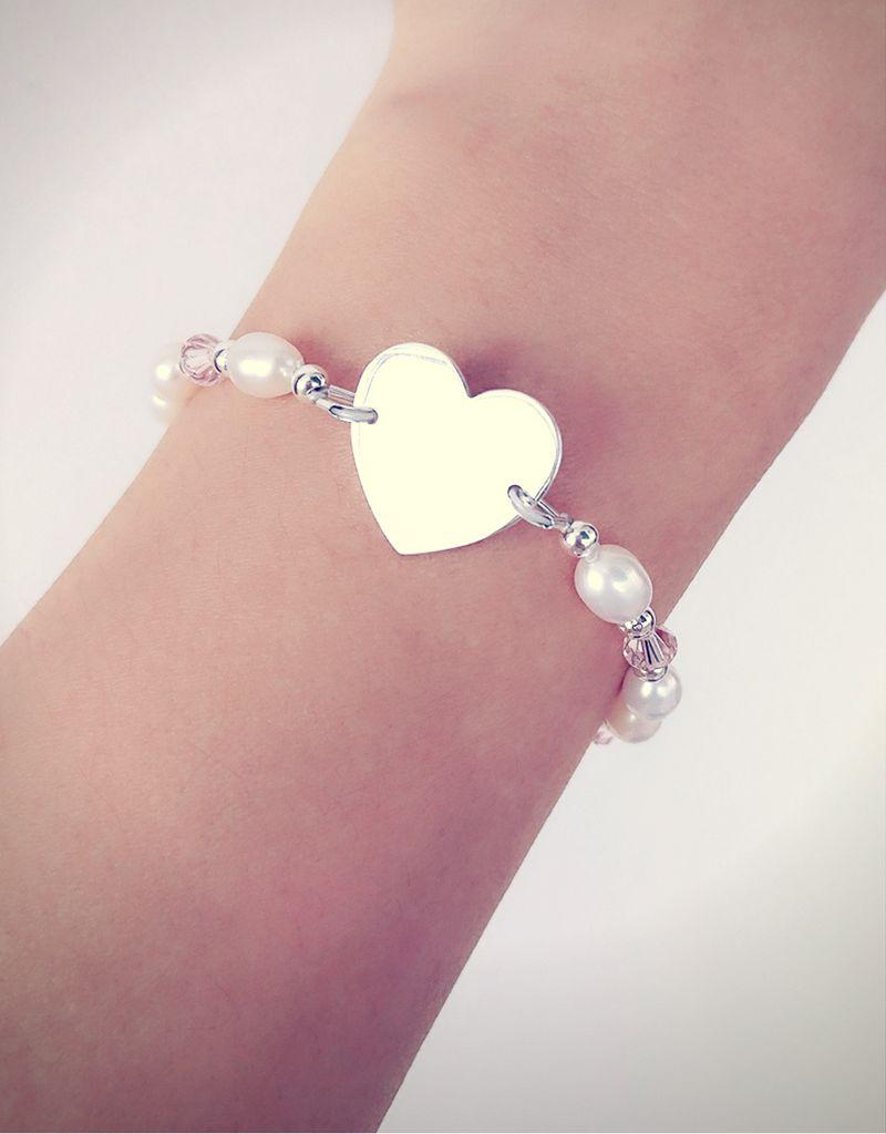 KAYA sieraden Infinity Bracelet silver 'forever' with Pearl - Copy - Copy