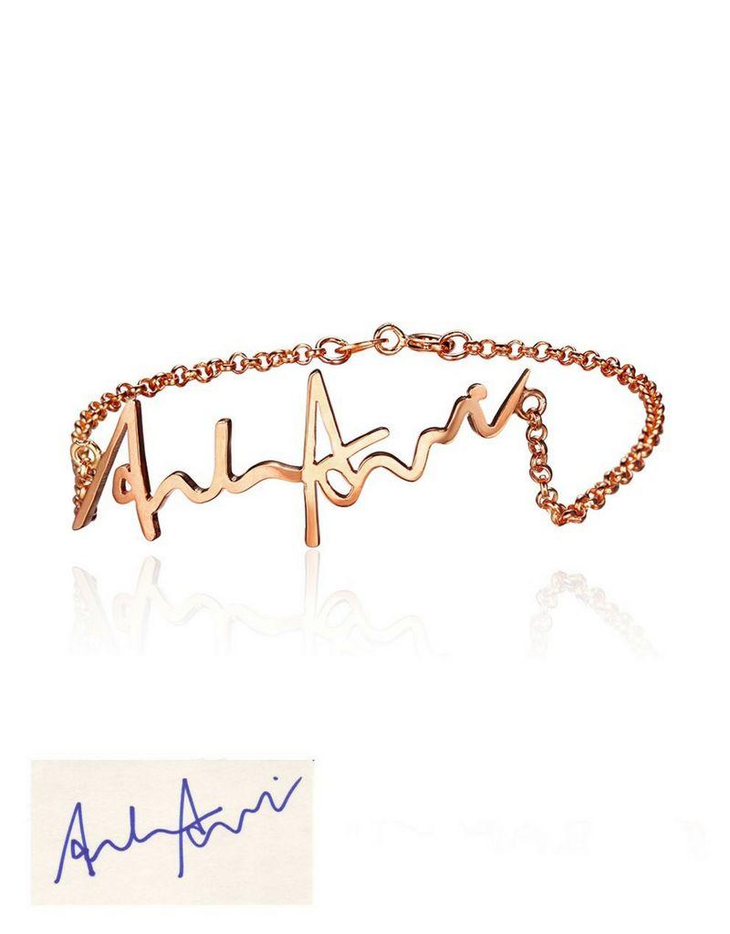 Armband met eigen handschrift