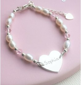 KAYA sieraden Infinity Bracelet silver 'forever' with Pearl - Copy - Copy