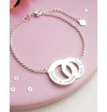 Personalized bracelet 'Entwined'