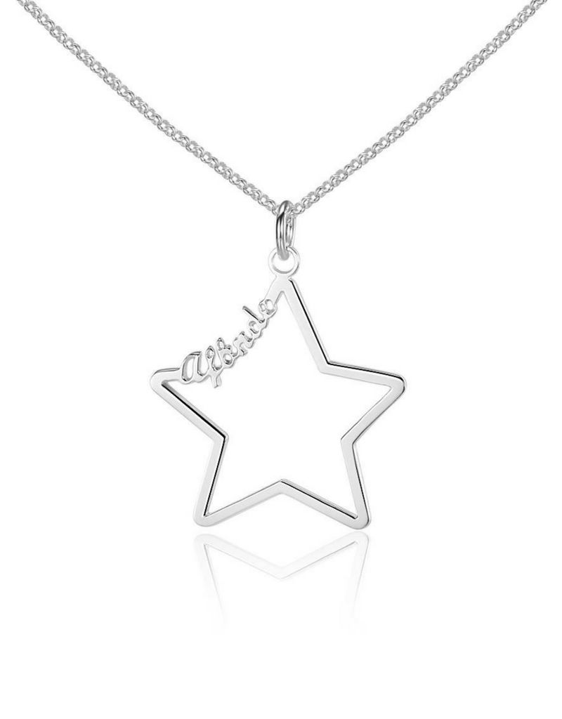 KAYA sieraden Necklace with 1 name 'star'