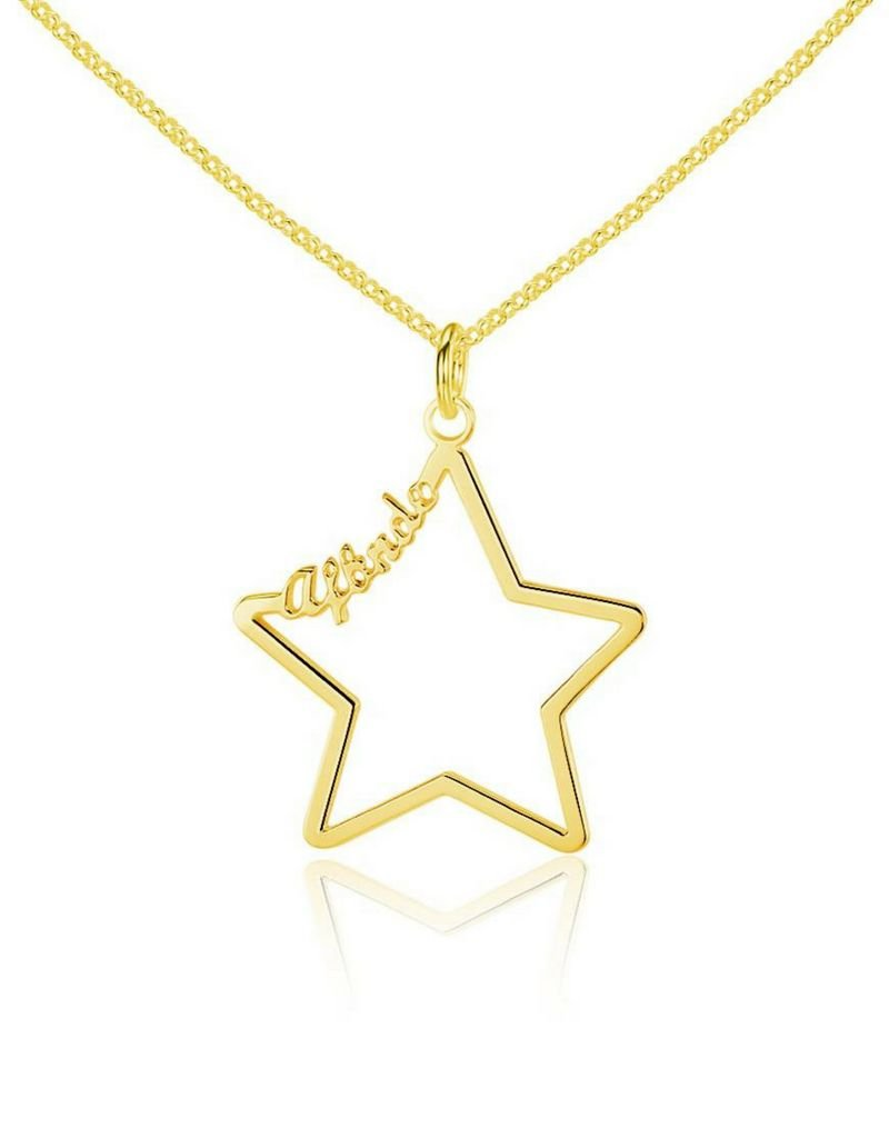 Ketting met 1 naam 'star'