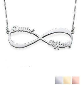 KAYA sieraden Zilveren Infinity ketting 'Close to my Heart', lief mamakado