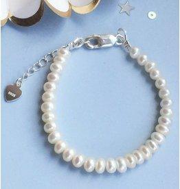 KAYA sieraden Silver Pearl Bracelet 'Pure'