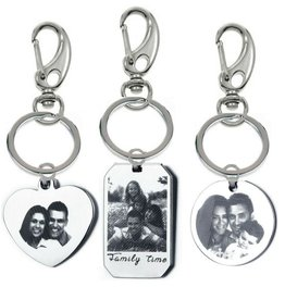 KAYA sieraden Keychain with photo and text