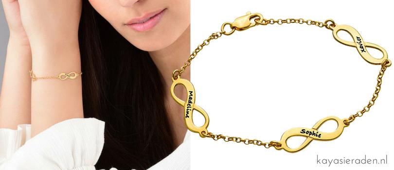 Infinity sieraden, leg oneindige liefde vast