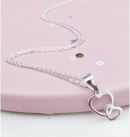 Zilveren ketting 'connected'