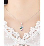 KAYA sieraden Necklace with birth stones 'three hearts' - Copy