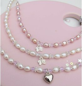 KAYA sieraden Parelketting 'Her first Pearls'
