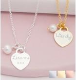KAYA sieraden Zilveren Ketting 'Tiffany Style'