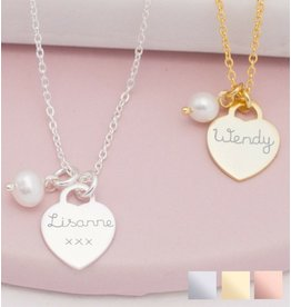 Zilveren Ketting 'Tiffany Style'