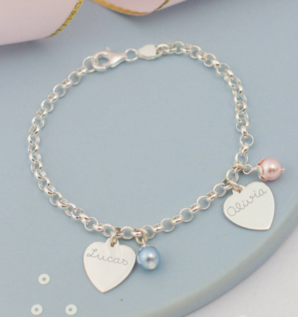 Silver Chain Bracelet 'Ask yourself together'