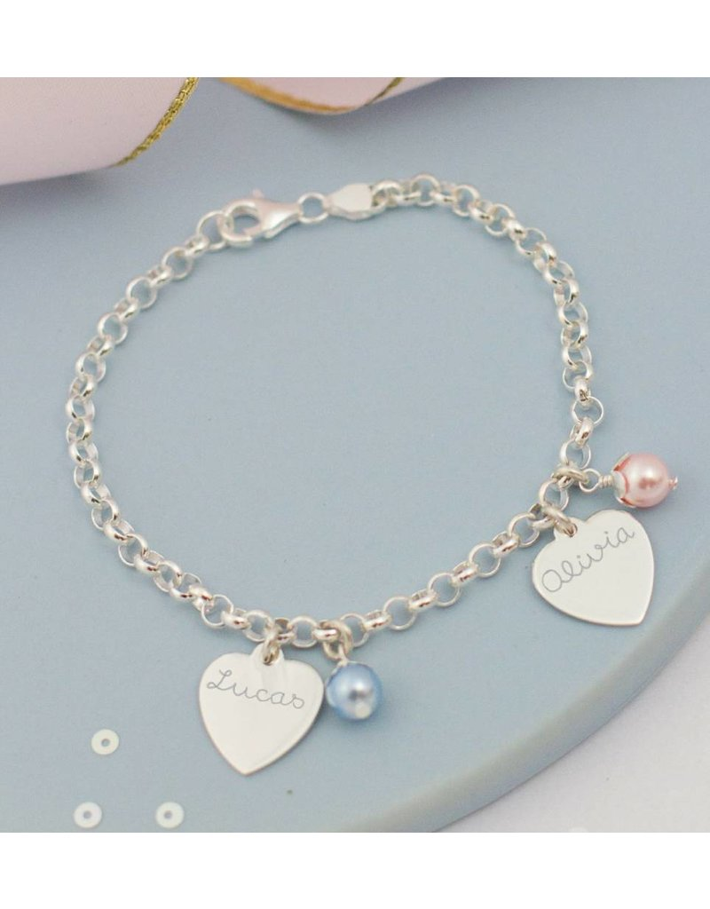 KAYA sieraden Design your own silver charm bracelet - Copy - Copy