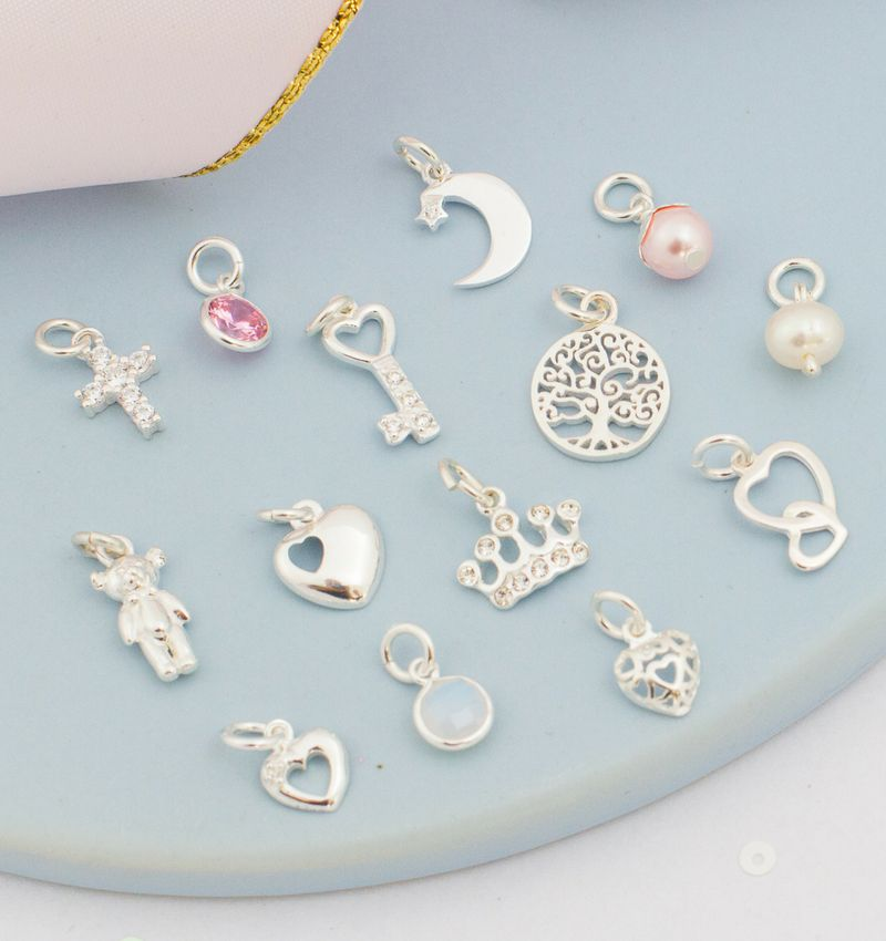 KAYA sieraden Zilveren armbanden Cute Balls 'Kies je bedels'