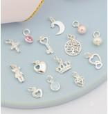 KAYA sieraden 3 Zilveren Jasseron Armband 'Stel zelf Samen'