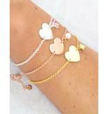 KAYA sieraden Gepersonaliseerde armband 'Sweet Heart'