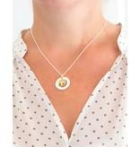 KAYA sieraden Zilveren stamboom ketting 'tree of life'