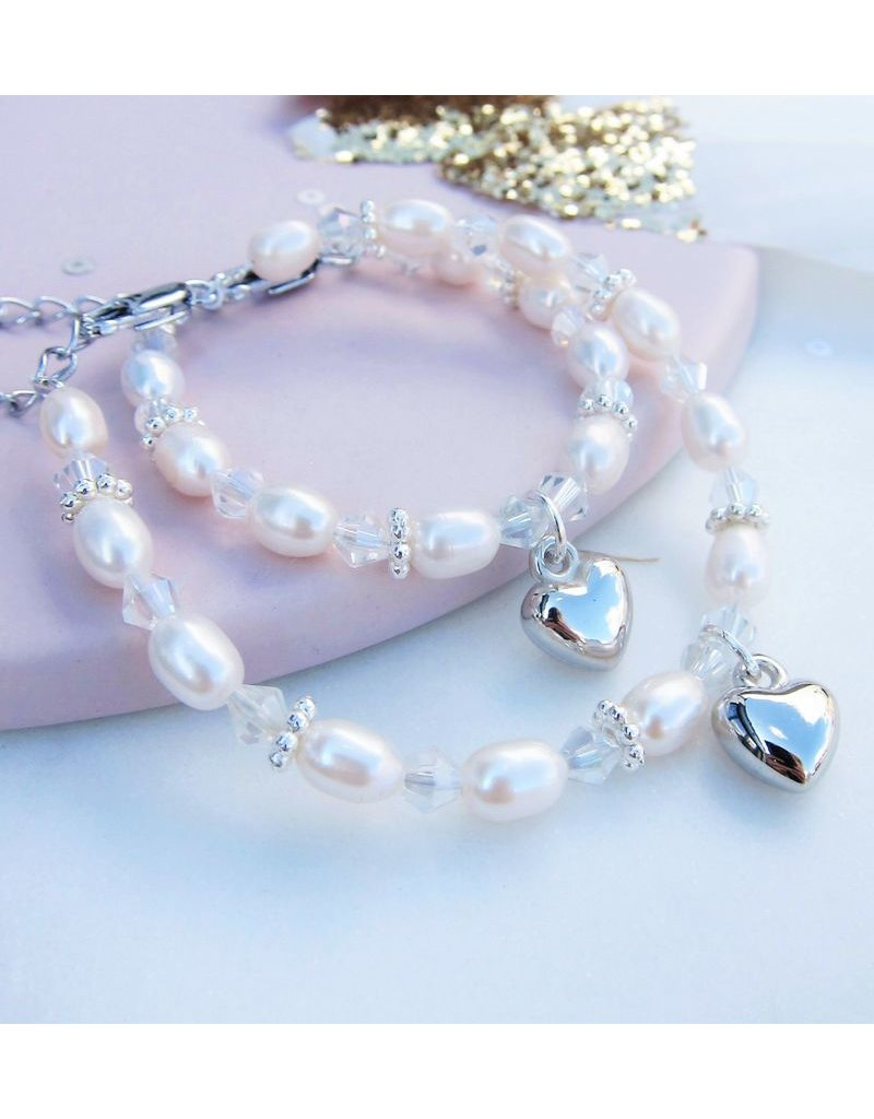 KAYA sieraden 3rd generation bracelets 'Infinity White' key to my heart