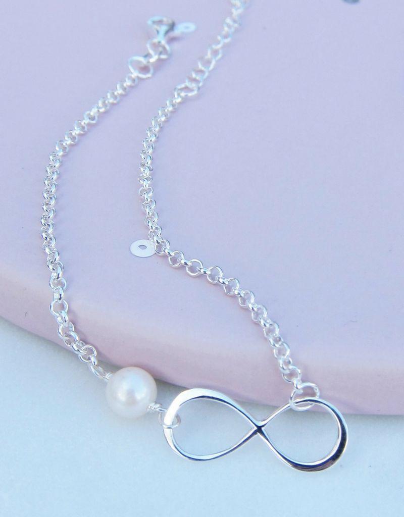 KAYA sieraden Zilveren armband 'Speechles' + graveerbedel