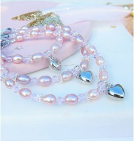 KAYA sieraden GrandMa & Mom & Me set 'Princess' by heart, children's jewelry, children's bracelet jewelry