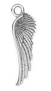 KAYA sieraden Gepersonaliseerde Ketting 'Angel Wings'