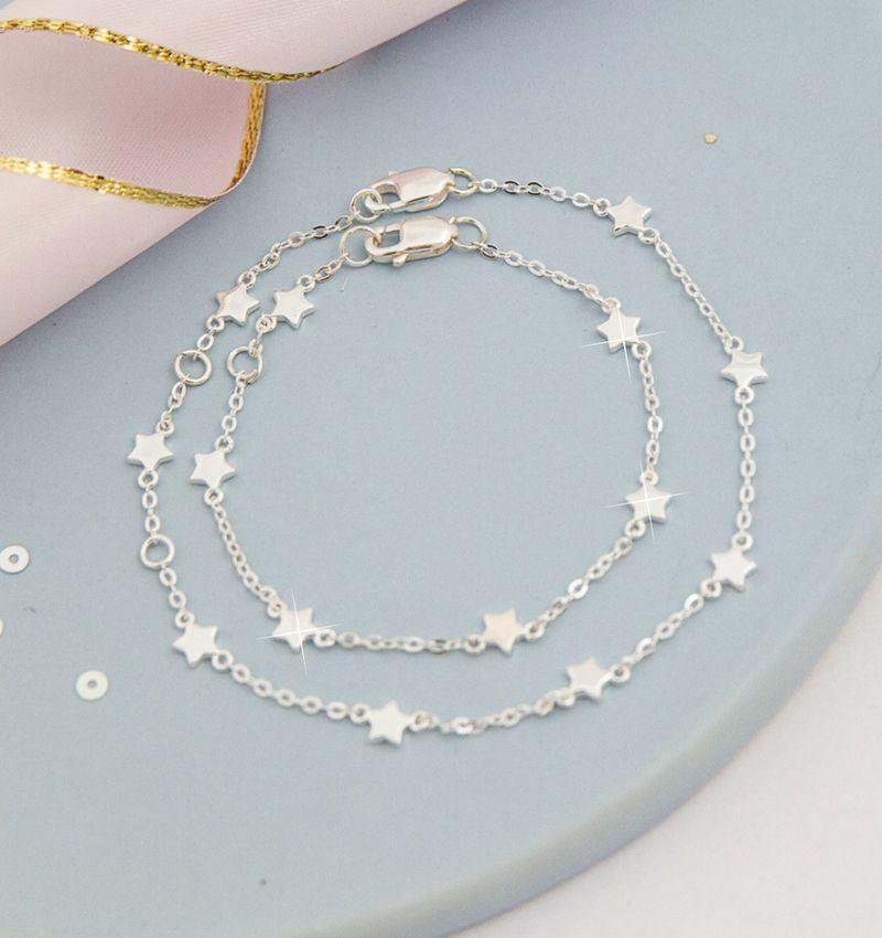 KAYA sieraden Zilveren damesarmband 'Twinkle Star'