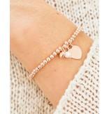 KAYA sieraden Zilveren armband 'Cute Balls' met Bedel & parel